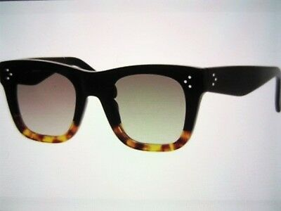 e997793e5f97 NWT AUTHENTIC CELINE CL41089 S BLACK HAVANA TORTOISE FU5 Z3 Sunglasses -   149.99