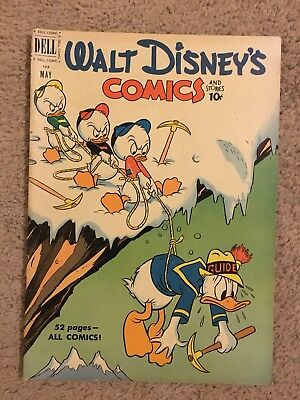 Walt Disney's Comics & Stories #128 (1951) Donald Duck (7.5 VF-) Carl Banks art