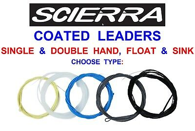 Scierra Trout Leaders Sea Brown Trout Grayling Chub Game Fly Fishing Tackle