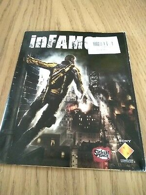 "PlayStation 3 - InFamous ""Manual / Instructions ONLY"" ""NO DISC"" PS3"