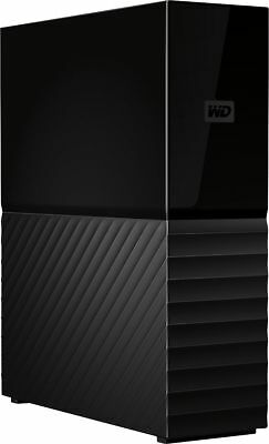 WD - My Book 10TB External USB 3.0 Hard Drive with Hardware Encryption - Black