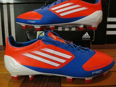 df25674f0d7 DS Adidas F50 Adizero TRX FG Sy Infrared Blue 8 V21436 Soccer Cleats messi  mania