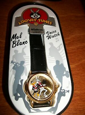 NEW IN BOX Looney Tunes (Bugs & Daffy Mel Blanc Voice Watch -Classic by Armitron