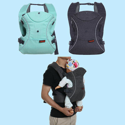 3 In 1 Ergonomic Infant Baby Carrier Backpack Breathable Portable Hiking Wrap US