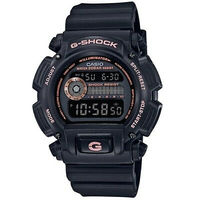 Casio G-Shock DW-9052GBX-1A4 Black Rose Gold Men's Digital Sports Watch