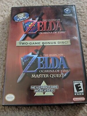 [Complete] The Legend of Zelda Ocarina of Time + Master Quest [Gamecube]