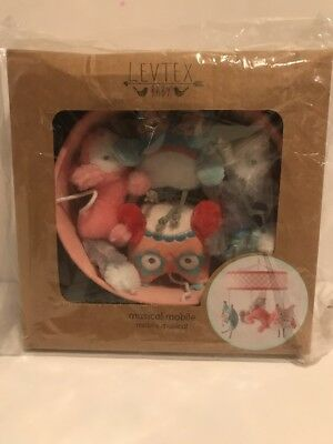 Levtex Baby Musical Mobile Owls