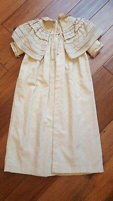 Victorian or Edwardian Baby Cloak coat christening 1900s
