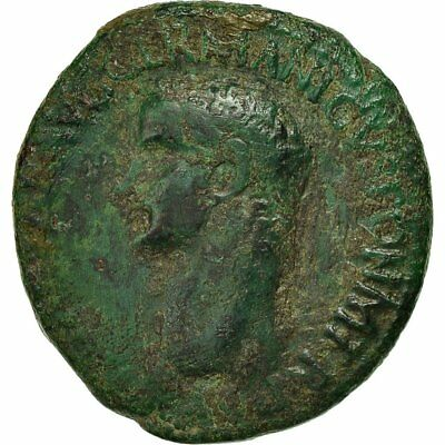 [#650643] Coin, Germanicus, As, 37-38, Rome, VF(20-25), Bronze, RIC:38