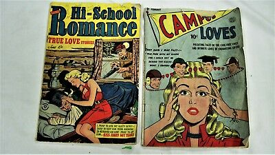 Romance Comics-Love Confessions-Campus Loves-Lot 5Bks