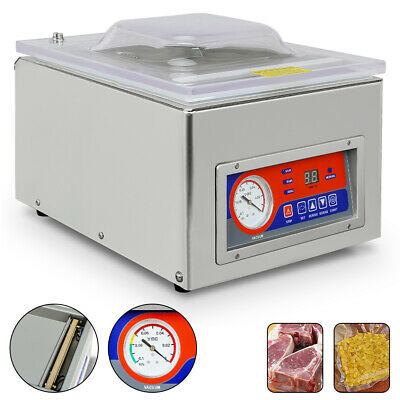 Digital Vacuum Packing Sealing Machine Sealer 120W Food Industrial Packaging
