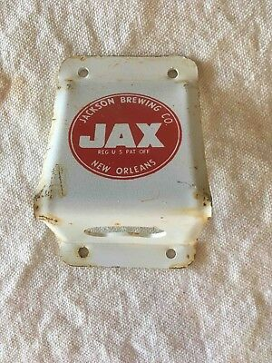 Old Jax Beer of New Orleans Wall Mount Bottle Opener Jackson Brewing Co.