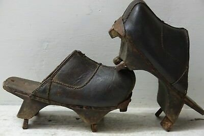 Very Interesting Pair Of Early Shoes - Extremely Rare & Unusual - Info Welcome