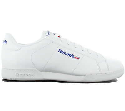86ef8116a6dc Reebok Classic Npc II Trainers Shoes Leather White Sneakers Leisure 1354 New