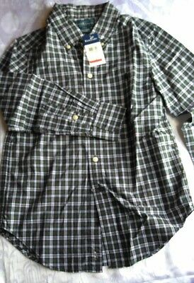 Ralph Lauren Polo shirt, boys size S (8), MSRP $45.00, checkered NWT, Free Ship