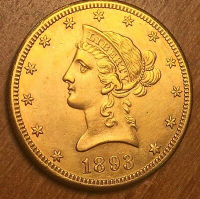 1893-CC Gold Eagle $10 SUPER KEY Middle Uncirculated ***Plus 1957 ngc ms65 red