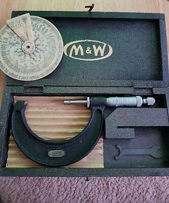 Moore and wright micrometer 966