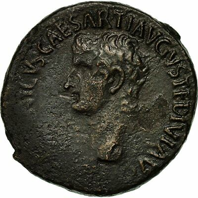 [#650646] Coin, Germanicus, As, 37-38, Rome, Rare, VF(30-35), Bronze, RIC:35