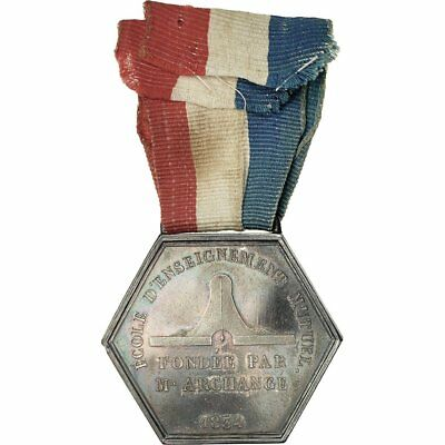 [#554621] France, Ecole d'Enseignement Mutuel, Commune d'Orsay, Medal, 1888