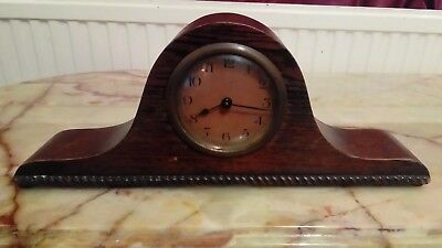 Vintage 1930s Napoleon Mantel Clock Needs Attention