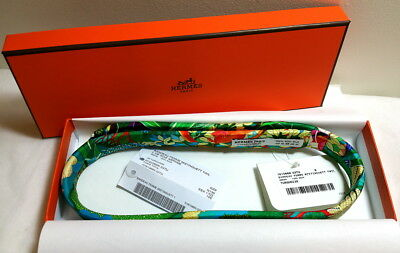 Hermes Paris 100% Silk Headband Hair Accessory **CHOOSE UR COLOR** BNIB-WTH TAGS