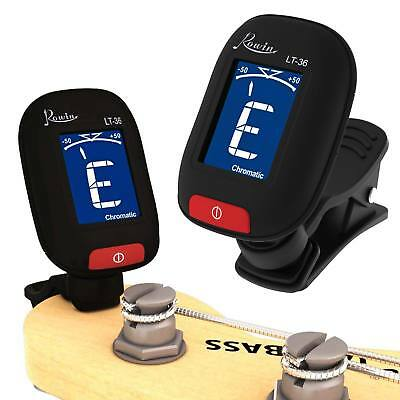 LED Clip-on Electronic Digital Guitar Tuner Acoustic Bass Violin Tuning Tuner