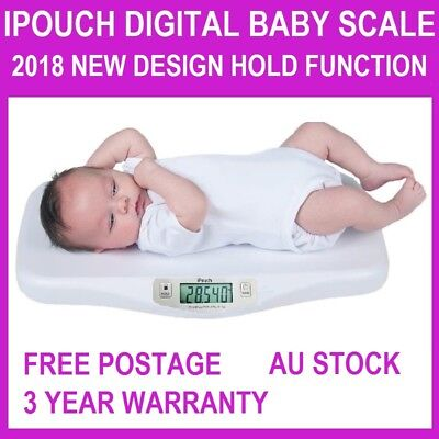 New Digital Infant Baby Pet Scale with Hold Function XL Platform 20KG