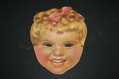 "Vintage SUNBEAM Bread Paper Mask Advertising ""Let's Be Friends Reach for SUNBEAM"