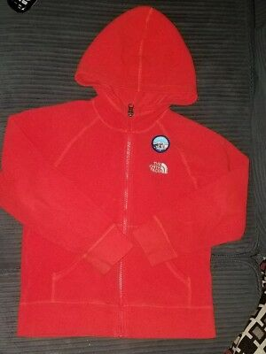 North face Fleece jacket size small 6/7