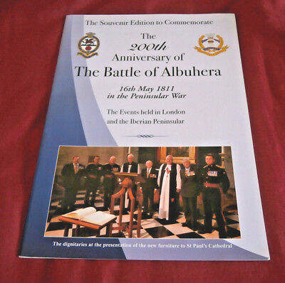 BATTLE OF ALBUHERA 200th ANNIVERSARY. PENINSULAR WAR. SOUVENIR EDITION. Illus.