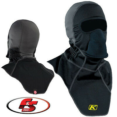 Klim Arctic Balaclava Black 5037 Winter Snowmobile Mask Gore Windstopper