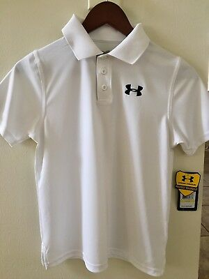 Under Armour Heatgear Youth Med Polo