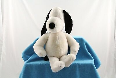 "Vintage 1968 Plush SNOOPY Peanuts Dog Stuffed Animal Toy Character 19"" Tall"