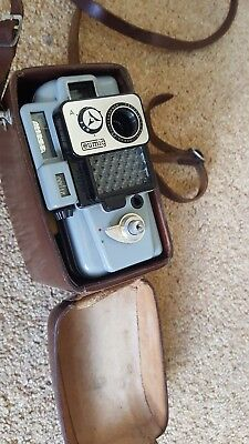 Vintage Eumig Servomatic Cine Camera with hard Case