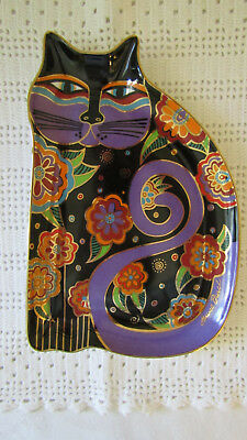 Laurel Burch Royal Doulton Feline Fantasy Cat Plate Limited Ed. Franklin Mint