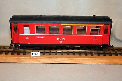 LGB 3063 Light Red Passenger Car Used Lot L14