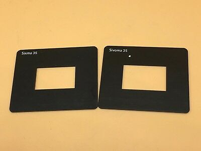 Durst Sivopar 35 (Sivoma & Sixma) Negative Mask Set For Enlarger (Stock Ref #1)