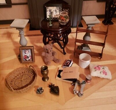 Dollhouse Miniature Lot Of Little Artisan And Commercial Goodies #2