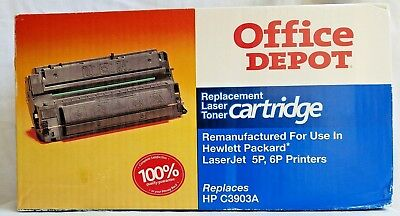 New Office Depot Replacement Laser Toner Cartridge for use in HP 5P, 6P Printers