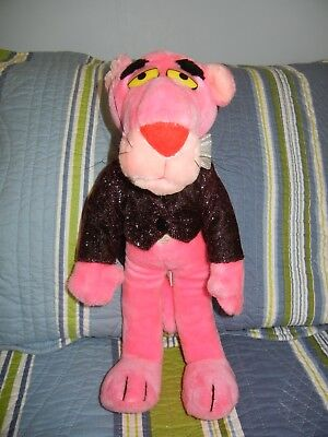 Pink Panther 25th Anniversary Plush 1987 The 24K Company