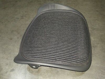 Herman Miller Aeron Chair Replacement Seat Pan 3D01 Graphite Medium Size B frame