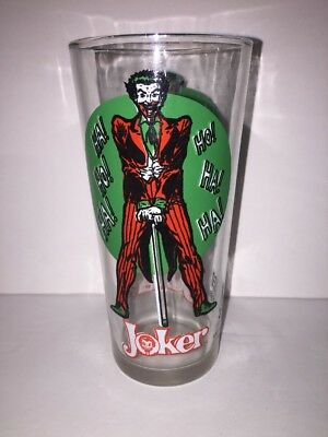 Superman Super Series Pepsi Collector Series 1976 Six Inch Glass Tumbler MINTY !