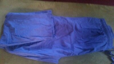 scrub pants purple ladies size 2xl