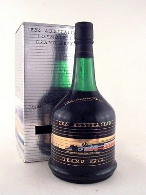 1986 FORMULA ONE GRAND PRIX F1 GP Tawny Port in Original Box ISLE OF WINE