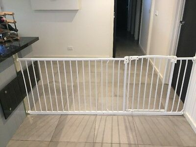 Perma Child / Pet Safety Gate Adjustable With Extension
