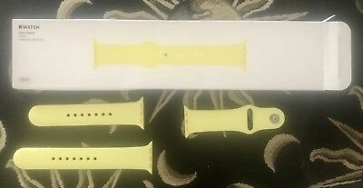 Apple Watch Series 38mm Replacement Sport Band Flash Yellow 2 3