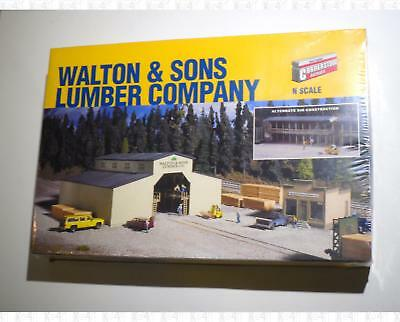 Walthers Cornerstone N Walton & Sons Lumber Co Sawmill Building Kit 933-3235