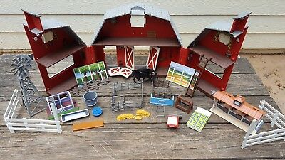 Breyer Paddock Pals Ranch Carry Case 1627 Plus Stables Accessories Horse Fences