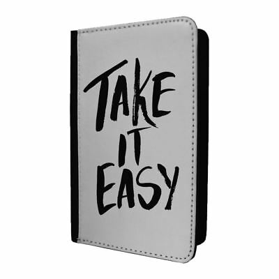 Passport Holder Case Cover Sayings Take It Easy - S1448