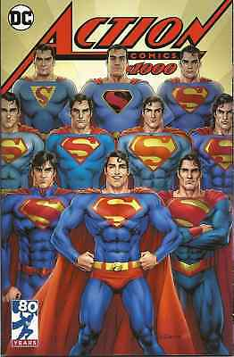 Action Comics 1000 Nicola Scott Kings Superman Through The Years Variant Nm